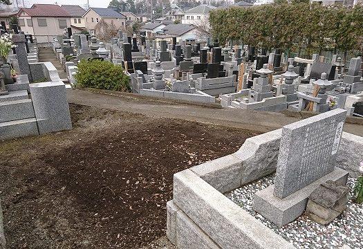 【 座間市寺院墓地】墓じまいを行いました。