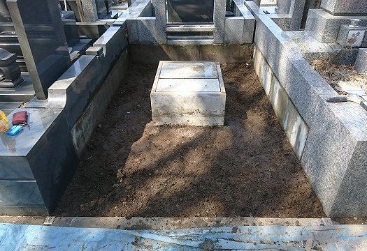 【 相模原市営峰山霊園 芝生墓所】墓じまいを行いました。