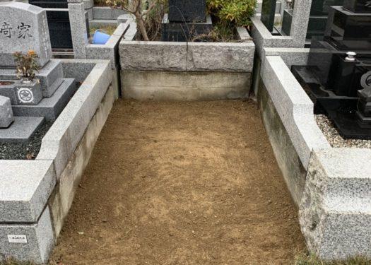 川崎市の緑ヶ丘霊園で墓じまいを行いました。