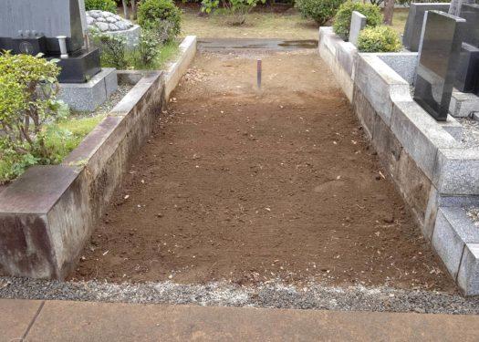 【藤沢市営大庭台墓園 普通墓所】墓じまいを行いました。